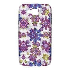 Stylized Floral Ornate Pattern Samsung Galaxy Premier I9260 Hardshell Case