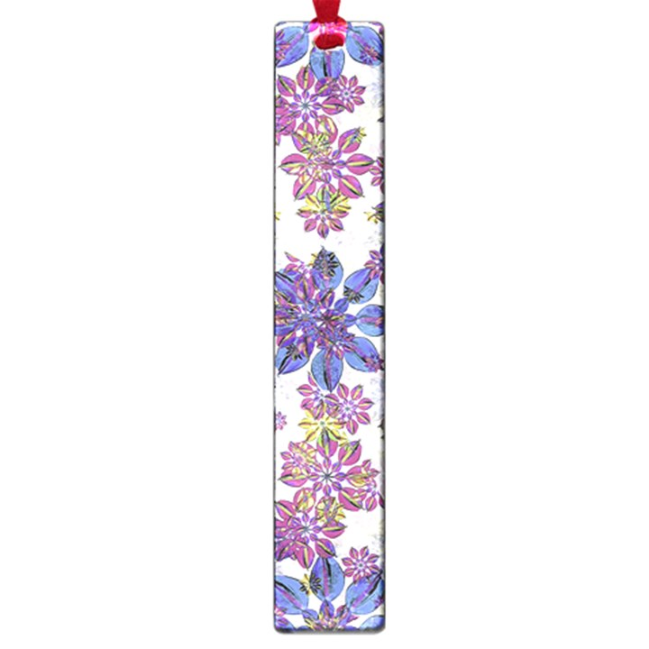 Stylized Floral Ornate Pattern Large Book Marks