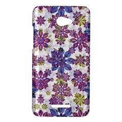 Stylized Floral Ornate Pattern HTC Butterfly X920E Hardshell Case