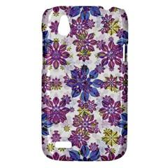 Stylized Floral Ornate Pattern HTC Desire V (T328W) Hardshell Case