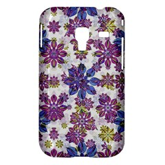 Stylized Floral Ornate Pattern Samsung Galaxy Ace Plus S7500 Hardshell Case