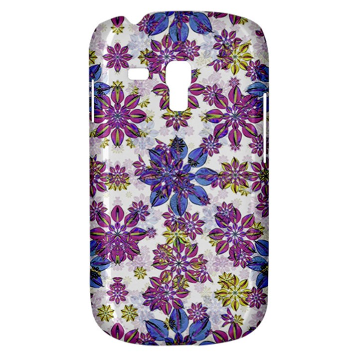 Stylized Floral Ornate Pattern Samsung Galaxy S3 MINI I8190 Hardshell Case