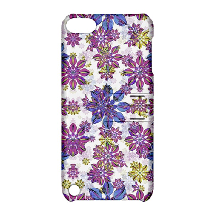 Stylized Floral Ornate Pattern Apple iPod Touch 5 Hardshell Case with Stand