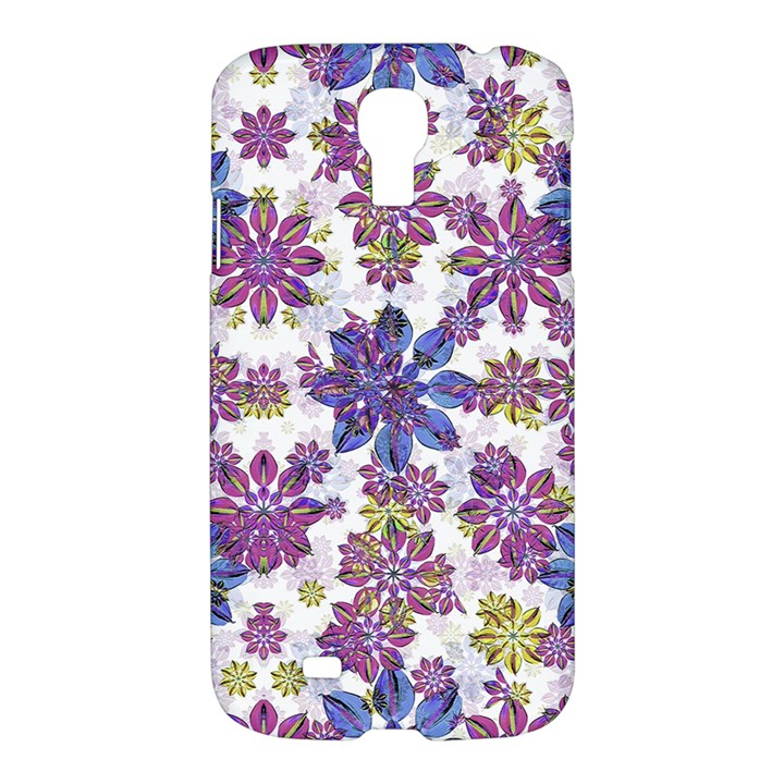 Stylized Floral Ornate Pattern Samsung Galaxy S4 I9500/I9505 Hardshell Case