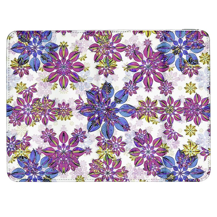 Stylized Floral Ornate Pattern Samsung Galaxy Tab 7  P1000 Flip Case