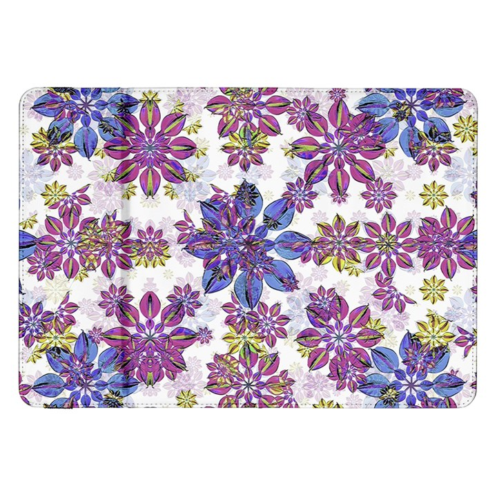 Stylized Floral Ornate Pattern Samsung Galaxy Tab 8.9  P7300 Flip Case