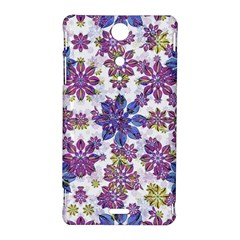 Stylized Floral Ornate Pattern Sony Xperia TX