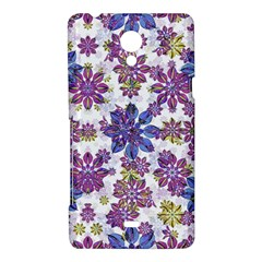 Stylized Floral Ornate Pattern Sony Xperia T