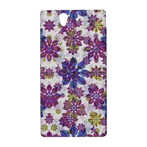 Stylized Floral Ornate Pattern Sony Xperia Z