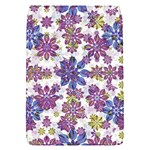 Stylized Floral Ornate Pattern Flap Covers (S)  Front
