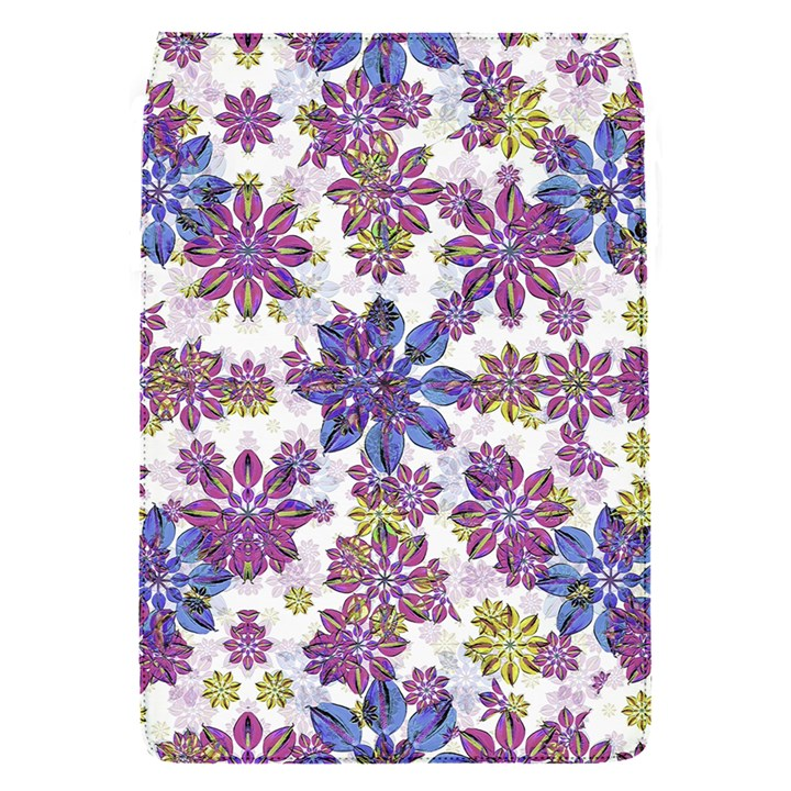 Stylized Floral Ornate Pattern Flap Covers (S)