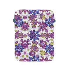 Stylized Floral Ornate Pattern Apple Ipad 2/3/4 Protective Soft Cases