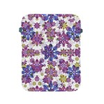 Stylized Floral Ornate Pattern Apple iPad 2/3/4 Protective Soft Cases Front
