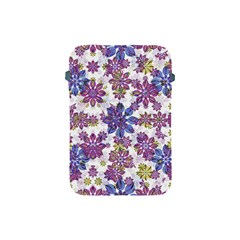 Stylized Floral Ornate Pattern Apple iPad Mini Protective Soft Cases