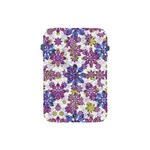 Stylized Floral Ornate Pattern Apple iPad Mini Protective Soft Cases Front
