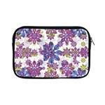 Stylized Floral Ornate Pattern Apple iPad Mini Zipper Cases Front