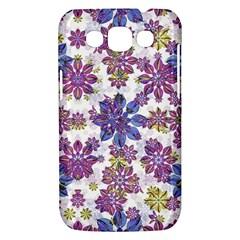 Stylized Floral Ornate Pattern Samsung Galaxy Win I8550 Hardshell Case