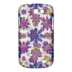 Stylized Floral Ornate Pattern Samsung Galaxy Express I8730 Hardshell Case