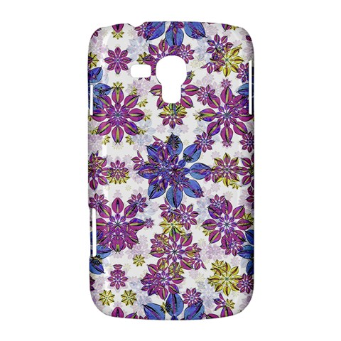 Stylized Floral Ornate Pattern Samsung Galaxy Duos I8262 Hardshell Case