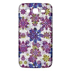 Stylized Floral Ornate Pattern Samsung Galaxy Mega 5.8 I9152 Hardshell Case