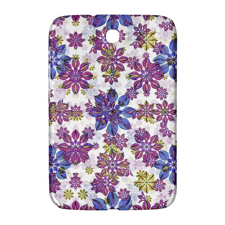 Stylized Floral Ornate Pattern Samsung Galaxy Note 8.0 N5100 Hardshell Case