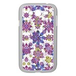 Stylized Floral Ornate Pattern Samsung Galaxy Grand DUOS I9082 Case (White) Front