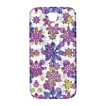 Stylized Floral Ornate Pattern Samsung Galaxy S4 I9500/I9505  Hardshell Back Case Front