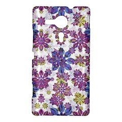 Stylized Floral Ornate Pattern Sony Xperia SP