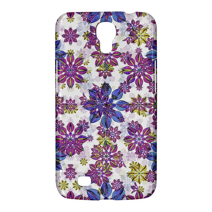 Stylized Floral Ornate Pattern Samsung Galaxy Mega 6.3  I9200 Hardshell Case