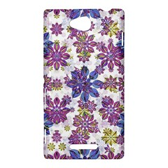 Stylized Floral Ornate Pattern Sony Xperia C (S39H)