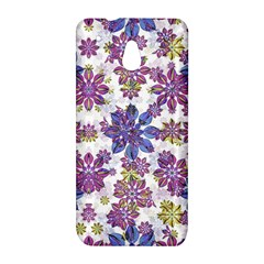 Stylized Floral Ornate Pattern HTC One Mini (601e) M4 Hardshell Case