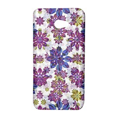 Stylized Floral Ornate Pattern HTC Butterfly S/HTC 9060 Hardshell Case