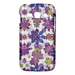 Stylized Floral Ornate Pattern Samsung Galaxy Ace 3 S7272 Hardshell Case