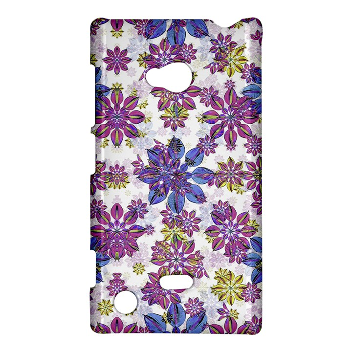 Stylized Floral Ornate Pattern Nokia Lumia 720