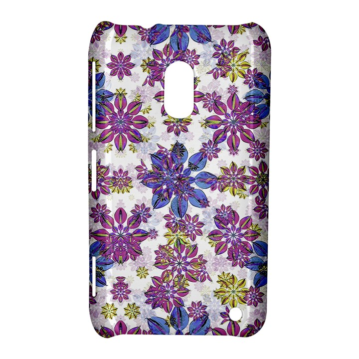Stylized Floral Ornate Pattern Nokia Lumia 620