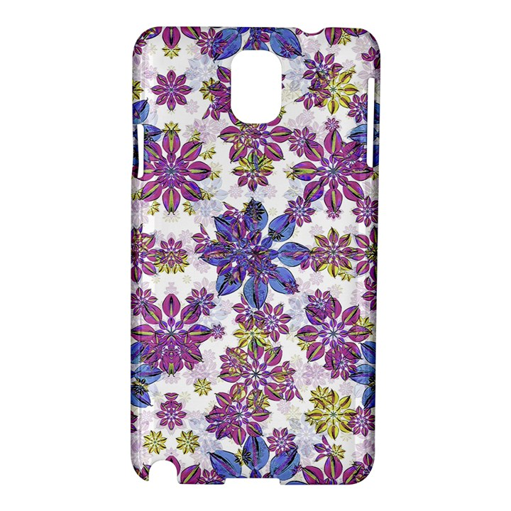 Stylized Floral Ornate Pattern Samsung Galaxy Note 3 N9005 Hardshell Case