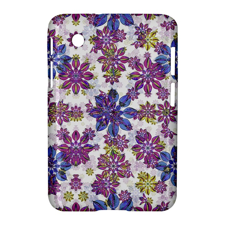 Stylized Floral Ornate Pattern Samsung Galaxy Tab 2 (7 ) P3100 Hardshell Case