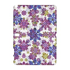 Stylized Floral Ornate Pattern Samsung Galaxy Note 10 1 (p600) Hardshell Case