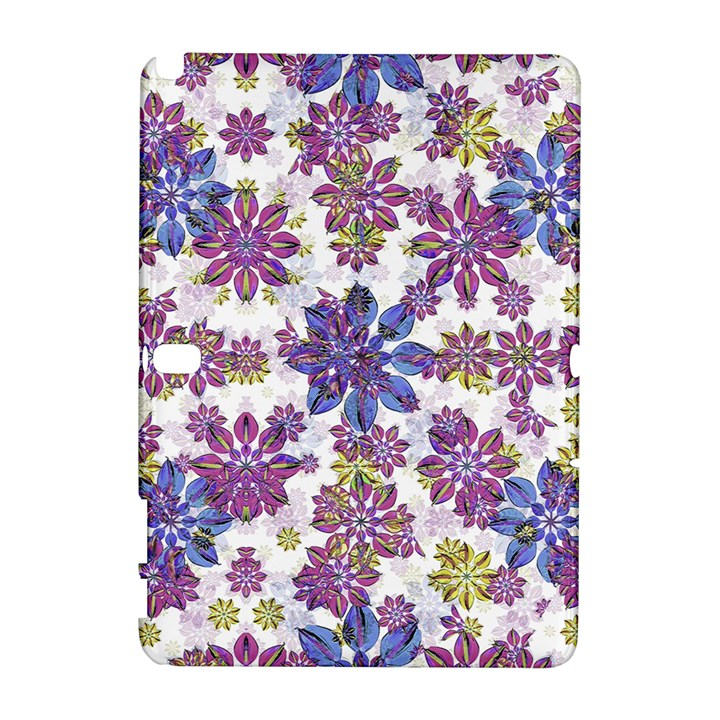 Stylized Floral Ornate Pattern Samsung Galaxy Note 10.1 (P600) Hardshell Case