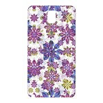 Stylized Floral Ornate Pattern Samsung Galaxy Note 3 N9005 Hardshell Back Case Front