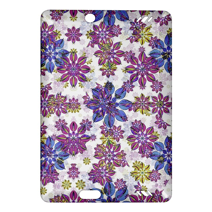 Stylized Floral Ornate Pattern Amazon Kindle Fire HD (2013) Hardshell Case