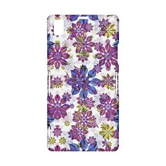 Stylized Floral Ornate Pattern Sony Xperia Z1