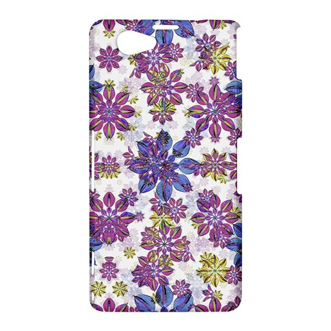 Stylized Floral Ornate Pattern Sony Xperia Z1 Compact