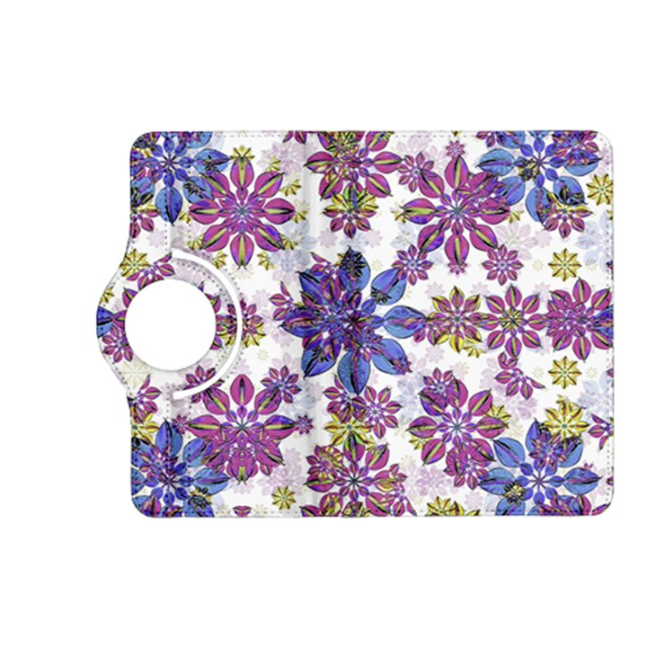 Stylized Floral Ornate Pattern Kindle Fire HD (2013) Flip 360 Case