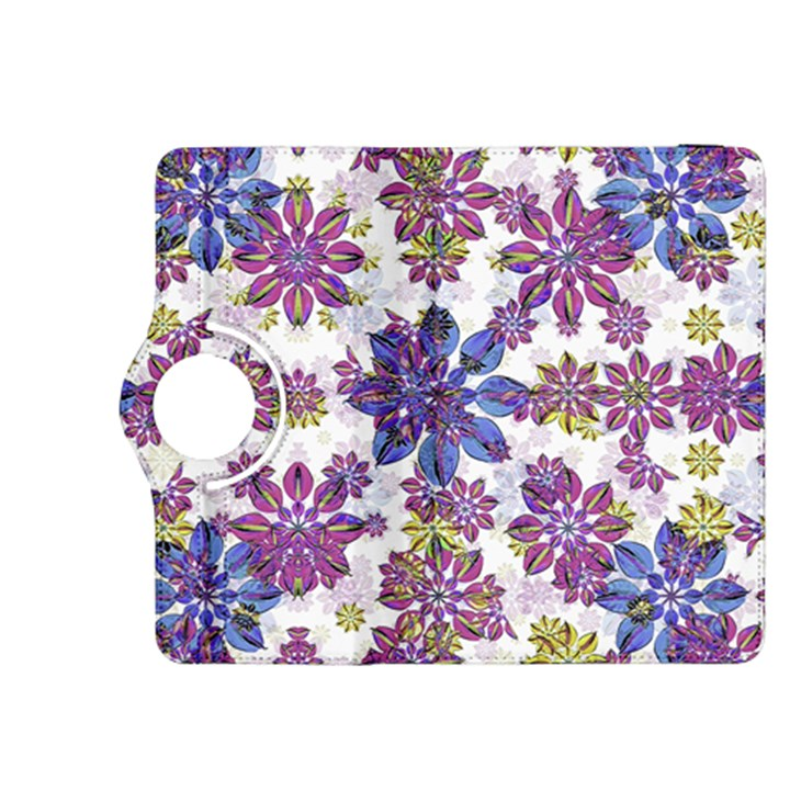 Stylized Floral Ornate Pattern Kindle Fire HDX 8.9  Flip 360 Case
