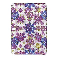Stylized Floral Ornate Pattern Samsung Galaxy Tab Pro 10 1 Hardshell Case