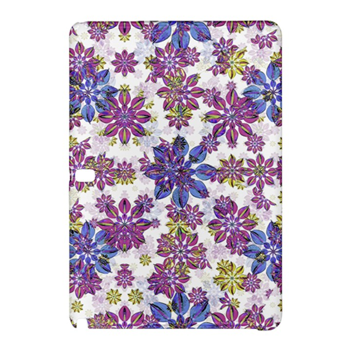 Stylized Floral Ornate Pattern Samsung Galaxy Tab Pro 12.2 Hardshell Case