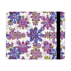 Stylized Floral Ornate Pattern Samsung Galaxy Tab Pro 8 4  Flip Case