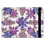 Stylized Floral Ornate Pattern Samsung Galaxy Tab Pro 12.2  Flip Case Front