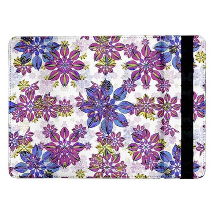 Stylized Floral Ornate Pattern Samsung Galaxy Tab Pro 12.2  Flip Case